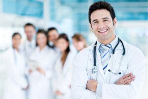 De aantrekkelijke arts