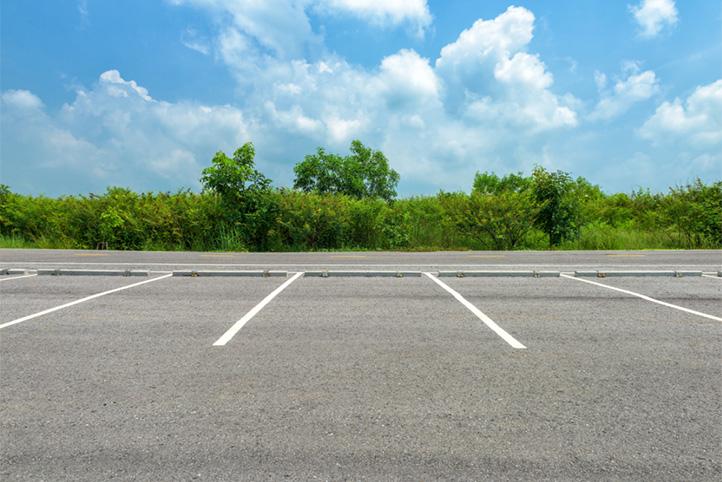 Een date op de parkeerplaats.