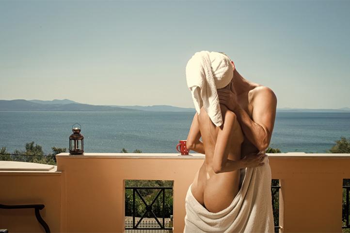Met mijn vrienden op vakantie naar het Griekse eiland Kreta.